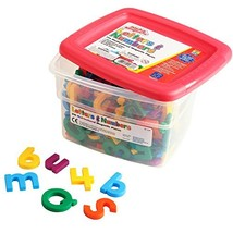 Educational Insights Multicolored AlphaMagnets and MathMagnets, 214 Pieces - $32.26