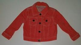 OshKosh Genuine Kids Coral Corduroy Jacket Toddler Size 2T - $12.82