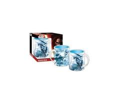 Disney Star Wars the Force Awakens Blue Boxed Mug - £11.35 GBP