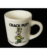 Crack Putt Cheating Golfer Mug Cahill Cartoon Golf Fanatic Gift by Mug S... - $14.84