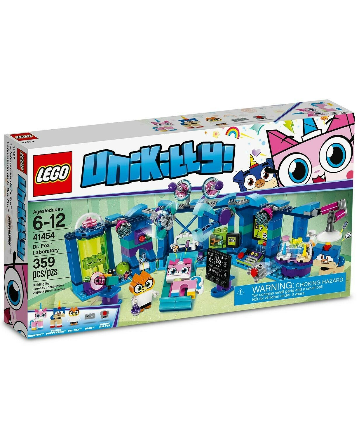 Primary image for LEGO Unikitty Dr. Fox Laboratory Set 41454, Multicolor
