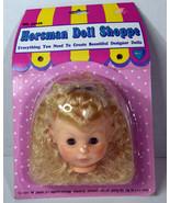 """5"""" Vintage 1993 Horsman Baby Girl Designer Doll Shoppe For 18"""" Body Curl... - $17.09"""