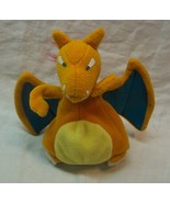 "Hasbro 1999 Nintendo Pokemon CHARIZARD TREAT KEEPER 4"" Plush STUFFED ANI... - $14.85"