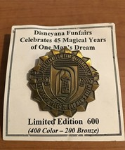 2000 DISNEYANA PIN TRADING - CELEBRATES 45 YEARS OF ONE MAN'S DREAM LE 200 - $14.99