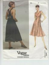 Vogue 2479 Misses Dress Fit Flare Betty Jackson Sewing Pattern 12-16 Uncut - $24.74