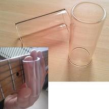 Glass Guitar Bottleneck Slider Finger Entertainment Accessories Electric... - $7.69