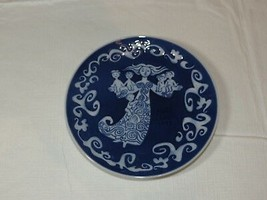 "Royal Copenhagen Mothers Day Mors Dag 1972 Collector Plate decorative 6"" - $14.42"