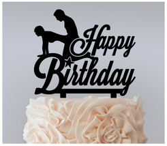 Birthday Cake topper,Cupcake topper,silhouette Sex Positions Package : 11 pcs - $20.00