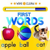 Wipe Clean First Words [Board book] [Dec 09, 2013] Rourke Educational Media - $4.95