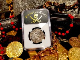 "SPAIN 4 REALES 1612 ""FULL DATE"" NGC VF PIRATE GOLD COINS TREASURE DOUBLO... - $1,050.00"