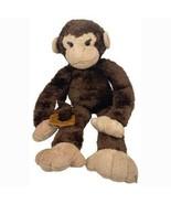 "Monkey Stuffed Animal 19"" Interlocking Hands Plush Soft Toy - $15.84"