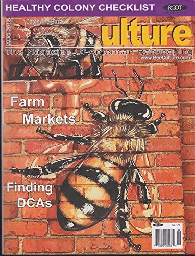 Primary image for Bee Culture's Beekeeping Magazine August 2018 [Single Issue Magazine] Various