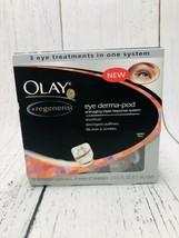 Olay Regenerist Eye Derma-Pod 3 Eye Treatments In One System 24 Applicators Read - $38.61