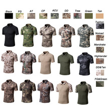Hunting Shooting Quick Dry Tactical BDU Combat Clothing Camo Camouflage ... - $21.00