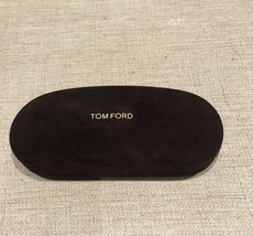 Auth. NEW TOM FORD Velvet Sunglasses Hard case rounded shap with dust cloth - $22.00