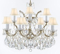 Made with Swarovski Crystal Maria Theresa Chandelier Crystal Lighting Fixture Pe - $649.04