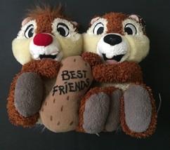 Disney Parks Chip And Dale Best Friends Chipmunk Plush Stuffed Animal Di... - $14.84