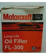 Motorcraft NOS Ford Long Life Oil Filter FL-300 - $17.73
