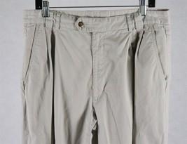 IZOD Mens Beige Cuffed Pants Tag Size 36 x 34, Measures 34 x 28 1/2 - $18.80