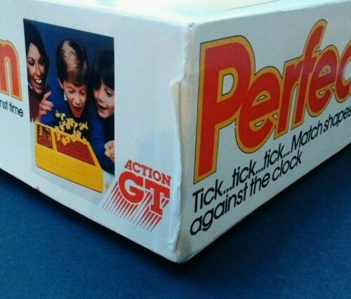 Vintage 1980s PERFECTION 100% Original, Working & Complete Boxed Game Action GT image 7