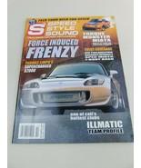 S3 Speed Style Sound Magazine October 2004 Torque Monster Miata Illmatic... - $9.79