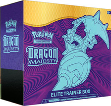 Pokemon Dragon Majesty Elite Trainer Box 10 Booster Packs Naganadel GX - $64.99