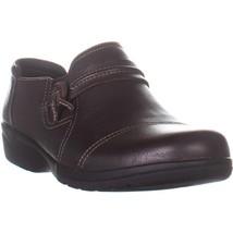 Clarks Cheyn Madi Round Toe Loafer Flats, Dark Brown, 10 US / 41.5 EU - $28.79