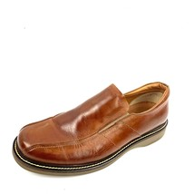 BOSTONIAN 29026 Italian Made Brown Leather Loafers Size 13 Med - $29.69