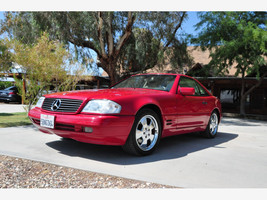1997 Mercedes-Benz SL500 For Sale In Yermo, CA 92398-1209 image 2
