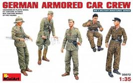 Miniart Models - 35072 - German Armored Car Crew - $15.99