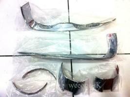 Chrome Headlight Cover Trim For Chevrolet Sonic Hatchback 5DR 2012 2013 2014 15 - $50.07