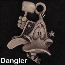 DANGLER Daffy Duck WARNER BROS LOONEY TUNES Pewter GIFT WB STORE 4389 - $13.36