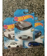 2019 Hot Wheels Factory Fresh Lamborghini Huracán, '19 Mercedes, & '17 A... - $4.95