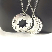 Khaleesi Lovers Double Necklace Set Silver Alloy FREE 1-DAY SHIP - $124,19 MXN