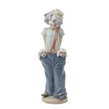"""LLADRO """"Little Pals"""" Glazed Porcelain Figurine #7600 Clown w/ Puppies in... - $891.00"""