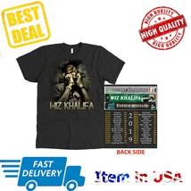 New Shirt Tour 2019 Khalid T-Shirt All Size 2 Side Black Tee  - $23.99+