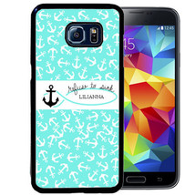 PERSONALIZED RUBBER CASE FOR SAMSUNG S9 S8 S7 S6 S5 PLUS REFUSE TO SINK ... - $13.98