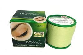 2 Spool Organica Eyebrow Cotton Threading Threads Antiseptic Facial hair... - $5.60