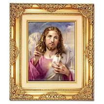 Head of Christ (Blessing) Framed Art - $84.00