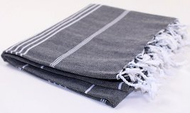 Turkish Towel Fouta Peshtemal Striped Beach Bath Spa Yoga Hammam Gym Pool Towel  - $17.91