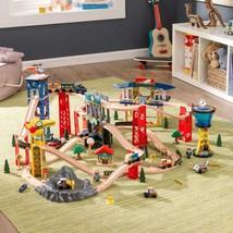 Super Highway Train Set (Melissa & Doug) -- Compatible w/most wooden train sets - $120.00