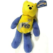 """WWJD Limited Treasures Treasure Bear 9"""" Blue Yellow What Would Jesus Do? Bible - $15.96"""