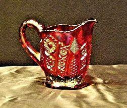 Vintage Purple Creamer Carnival Glass AA19-CD0015 image 4