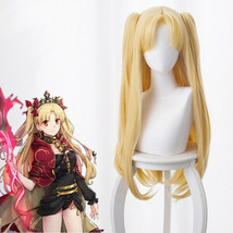 Fate/Grand Order Lancer Ereshkigal Rin Pale Blonde Double Pony Wig Cospl... - $26.80