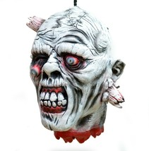 Scary Halloween Props Life Size Hanging Zombie Corpse Hanging Severed Head  - $23.99