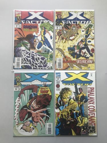 Lot of 9 X-Factor (1986 1st Series) from 85-106