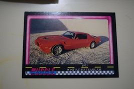 MUSCLE CARDS SERIES 1 KING OF THE HILL #12 1973 PONTIAC 455 TRANS AM - $3.72