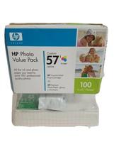 HP Photo Value Pack 57 - Tricolor Inkjet Print Cartridge Exp '08 Photo paper - $10.69