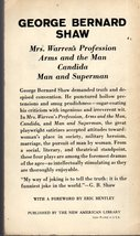 Plays By George Bernard Shaw,Man & Superman,Arms & The Man,Mrs Warren's Professi image 2