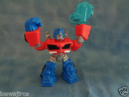 "Transformers Hasbro Optimus Prime PVC Action Figure or Cake Topper 3 1/2"" - $1.49"